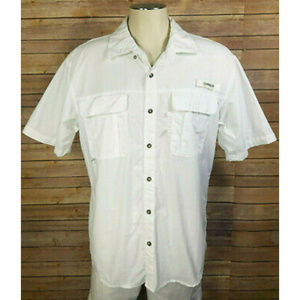 Magellan Fish Gear White Relaxed Fit Vented Shirt